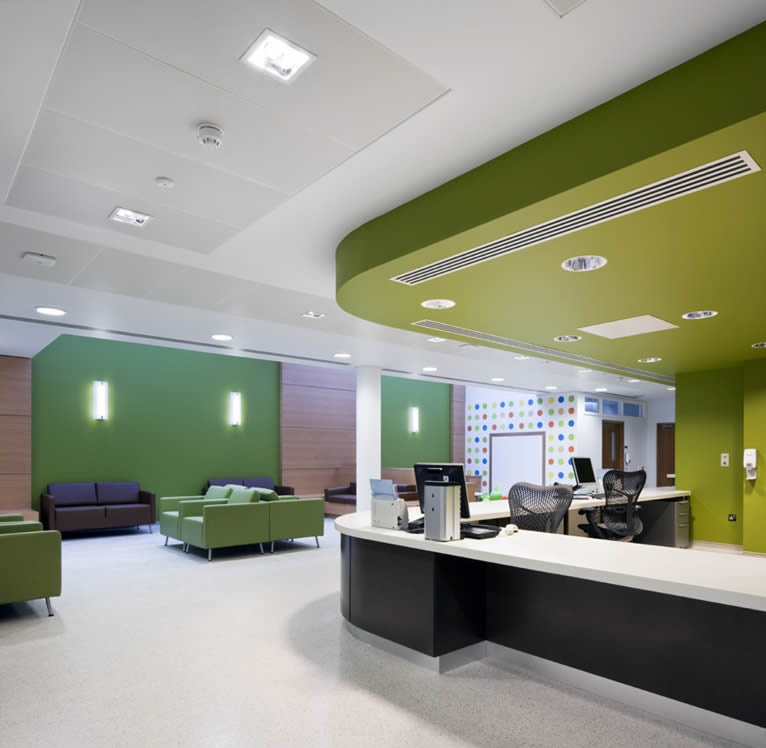 Healthcare Interior Designer in Delhi